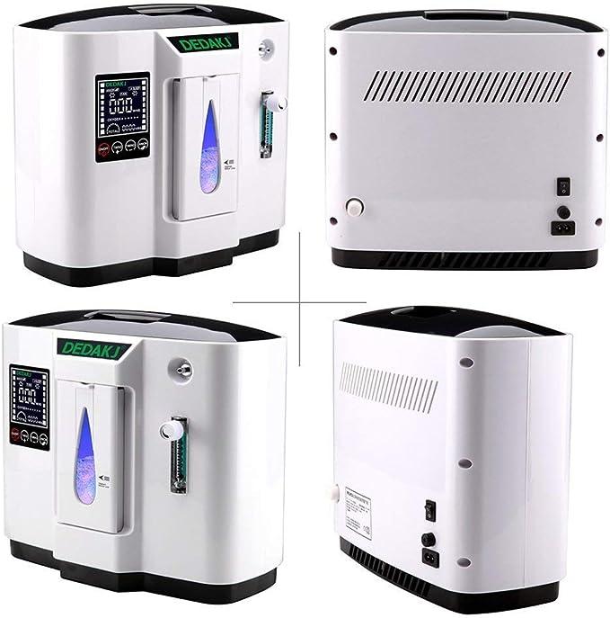 Vogvigo 1-6L / min Máquina de oxí-geno ajustable con manguera de ...