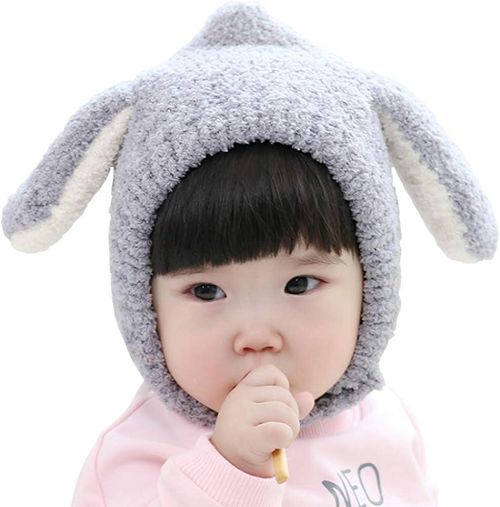 Ding-dong B/éb/é Enfant Gar/çon Fille Hiver Lapin Bonnet