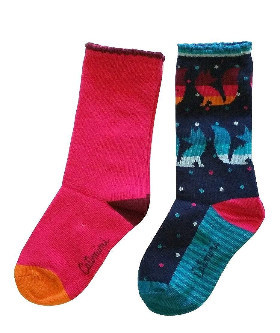 cg93005-87 Catimini Girls Socks 2pk