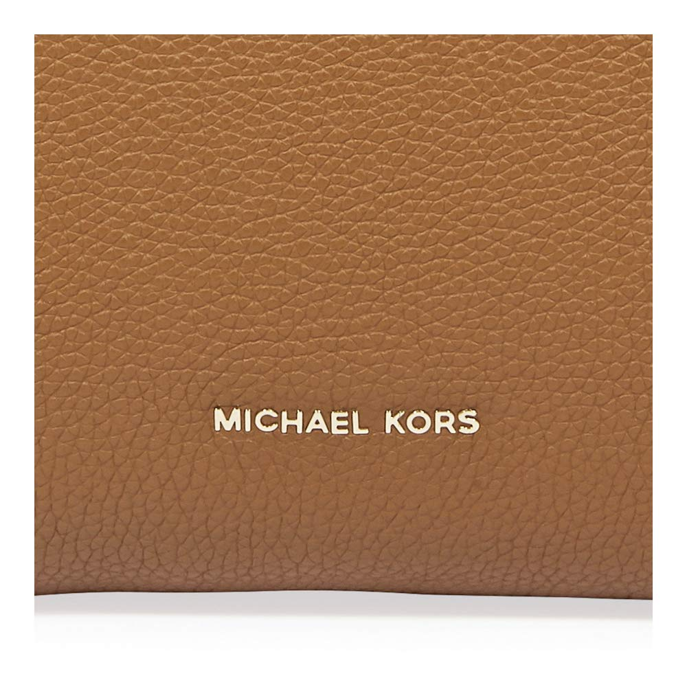 e78f20993f53 Michael Kors Rollins Large Pebbled Leather Satchel- Acorn: Handbags:  Amazon.com