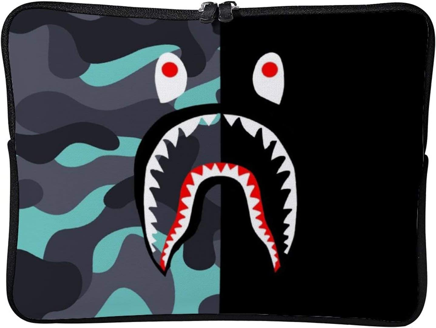 AmaUncle Sleeve Tablet Protective Bag Ba-pe Blood Shark (Model 8) Custom Tablet Sleeve Bag Case 11.6 inch/12 inch