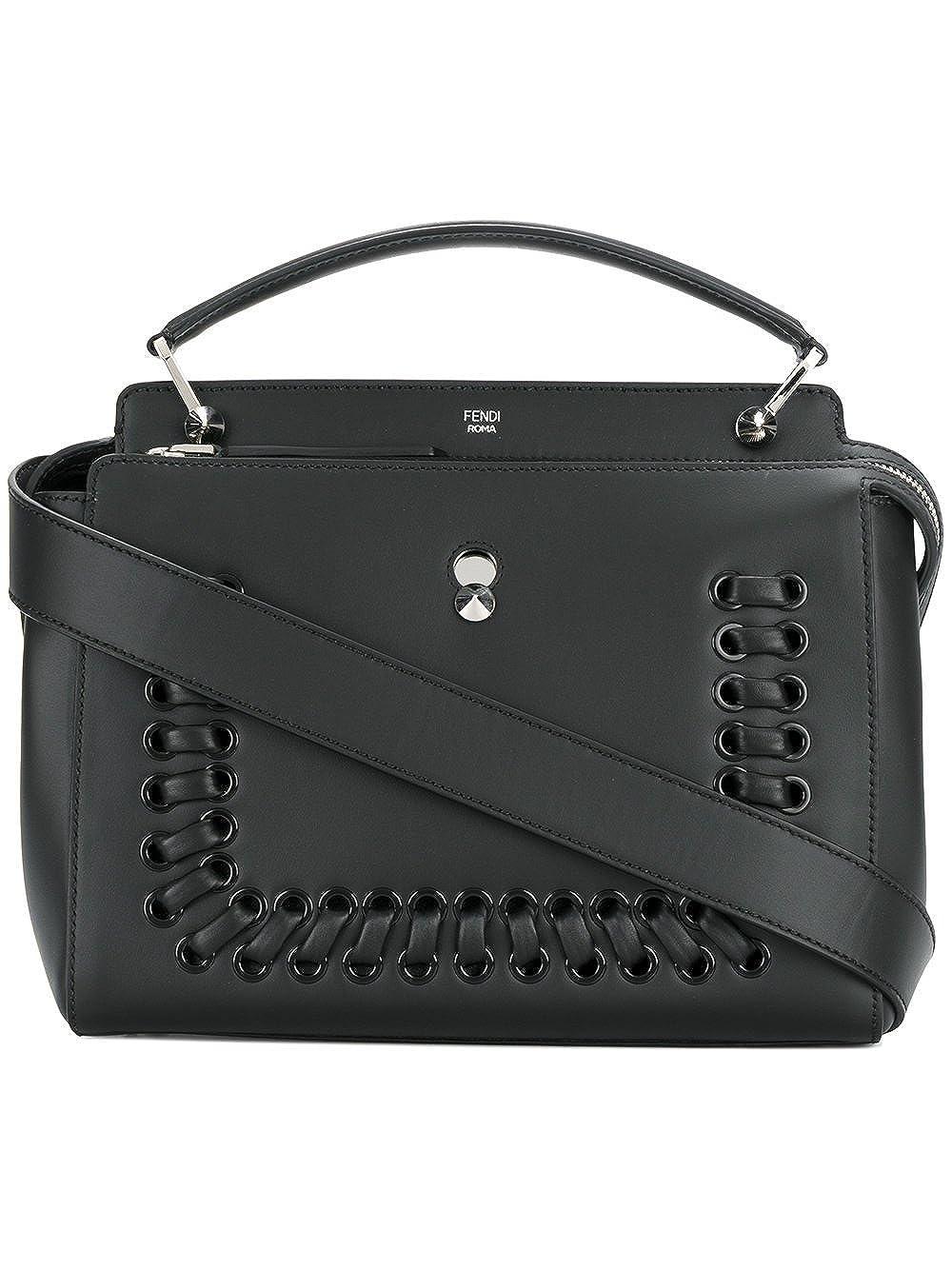 Fendi Women s 8Bn2937fvf0gxn Black Leather Handbag  Amazon.co.uk  Clothing 0d5a4a983f