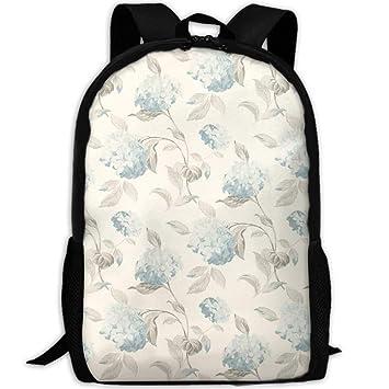 4a13edb6413e Amazon.com   Adult Travel Hiking Laptop Backpack Flower Paint School ...