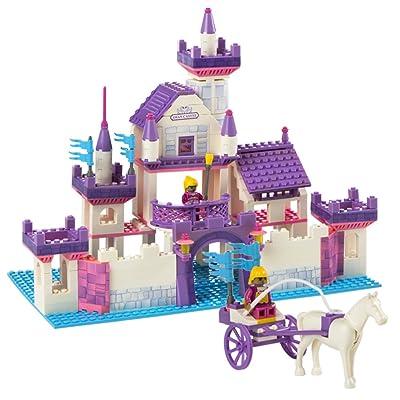 Ausini - Juego de construcción Castillo de Princesas - 368 piezas (ColorBaby 40757): Juguetes y juegos