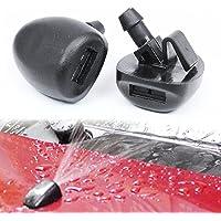 Ruitensproeier Sproeier, Ruitenwisser Sproeikop Voor Peugeot 407 206 206 Citroen C2 C5 MK1, 2 Stuks