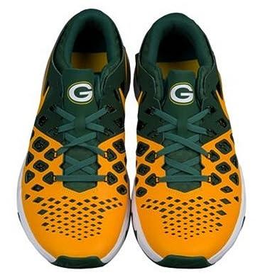 37ec338127626 Amazon.com | Nike Men's Green Bay Packers Free Trainer V7 NFL Shoes AA1948  301 Size 10 | Skateboarding