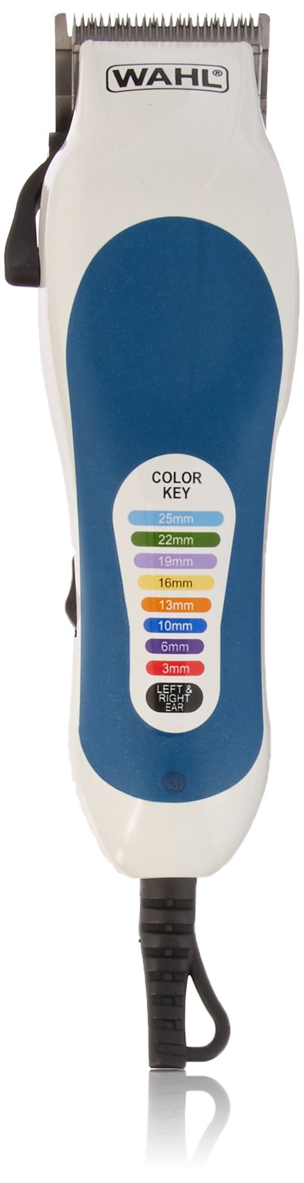 Wahl 79400 Color Coded Pro 20 Piece Haircutting Kit, 220 Volts by WAHL