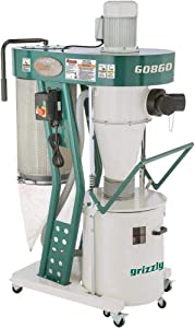 Grizzly Industrial G0860-1-1/2 HP Portable Cyclone Dust Collector