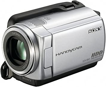 Amazon Com Sony Dcr Sr47 Hard Disk Drive Handycam Camcorder Silver Discontinued By Manufacturer Professional Camcorder Camera Photo