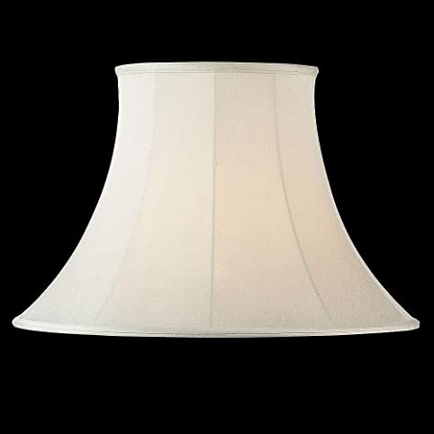 Endon CARRIE Cream Round Bell Lamp Shade- 14 inch: Amazon.co.uk ...