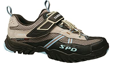 Shimano Zapatillas Sh-wm41 Mujer Marrón Tierra Talla 38: Amazon.es: Zapatos y complementos