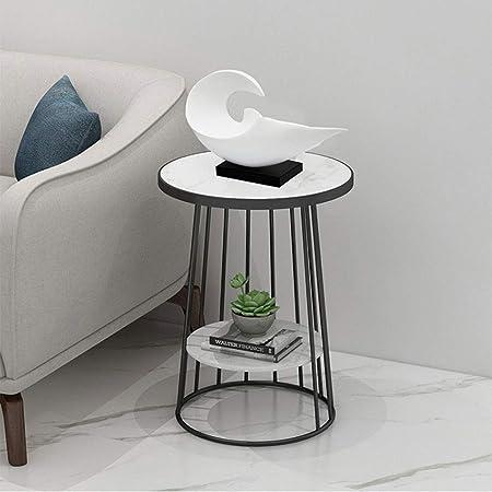 Amazon.com: GXFC - Mesa auxiliar moderna de mármol, mesa ...