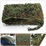 2 X 3m Woodland Filets de Camouflage Militaire Tactique Pour Camping Chasse Tournage Vert 7