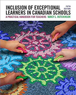 inclusion of exceptional learners in canadian schools pdf free