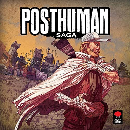 Posthuman Saga Board Game | Strategy Board Game | Tactical Adventure Game for Adults and Teens | Ages 14 and up | 1-4 Players | Average Playtime 30-120 Minutes | Made by Mighty Boards