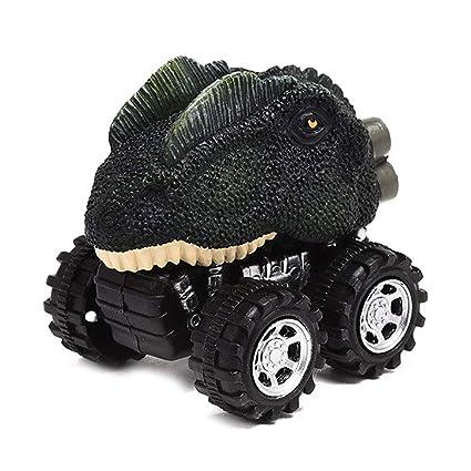 Semine Juguetes de dinosaurios para automóviles Tirar hacia ...