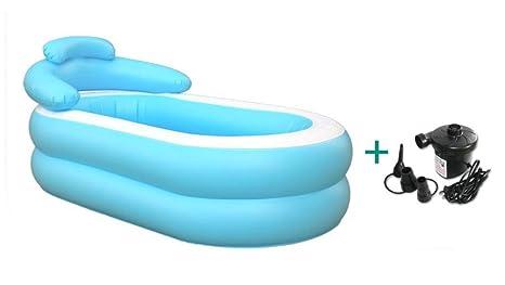 Vasca Da Bagno Gonfiabile Per Adulti : Gnnlonfei vasca da bagno gonfiabile barile da bagno per adulti