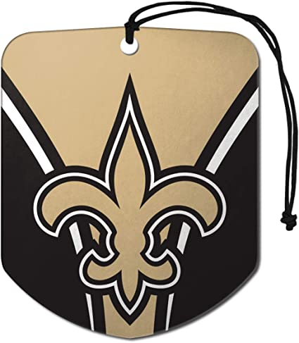 Amazon Com Fanmats Team Promark Af2nf19 Nfl New Orleans Saints Air Fresheners2 Pack Shield Design Air Fresheners Team Colors Sports Outdoors