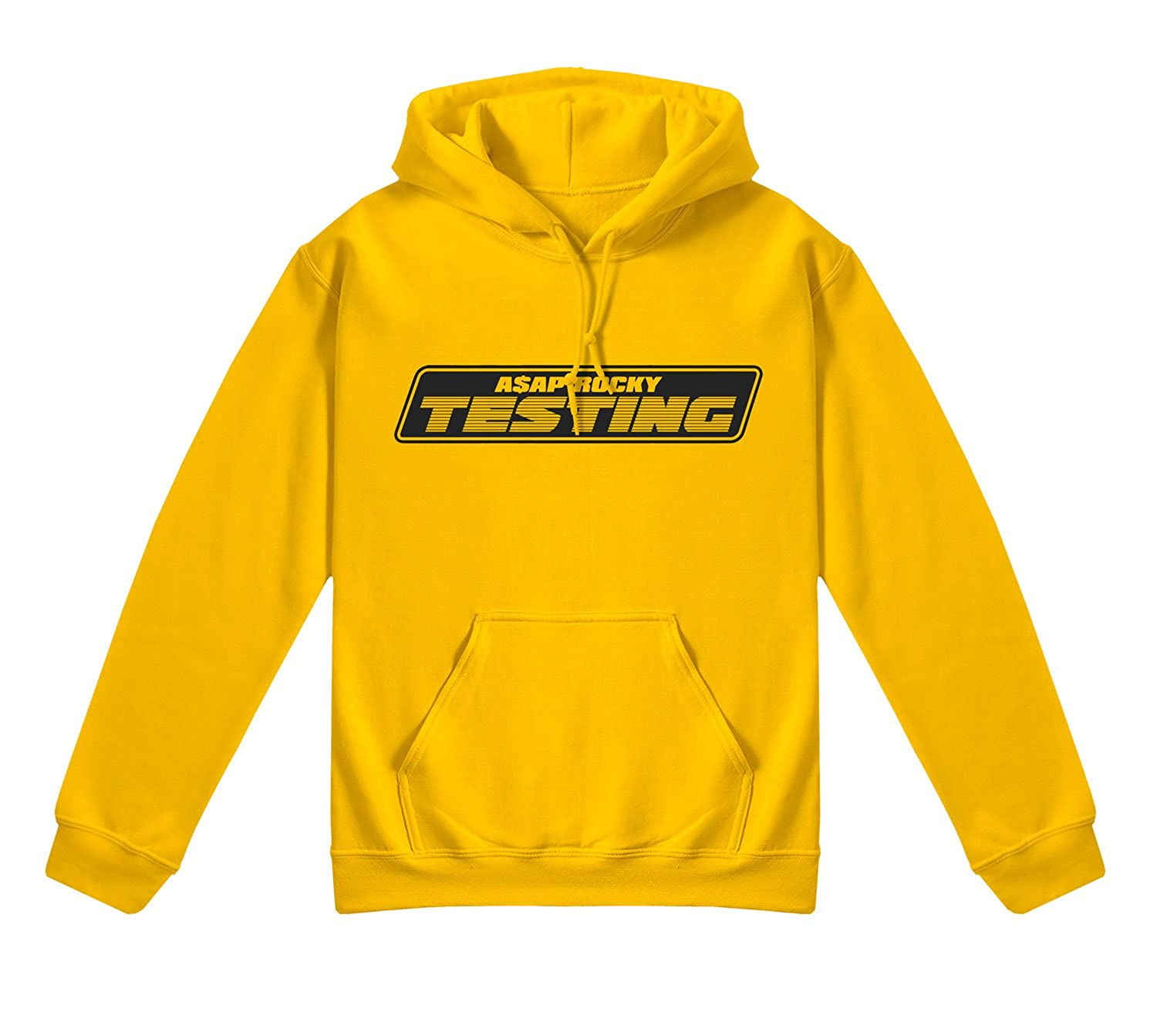 ASAP Rocky Testing Hoodie Yellow Album Cover: Amazon co uk