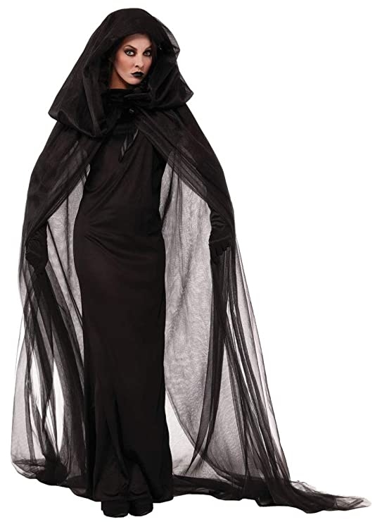SUIZNS Halloween Adulto Traje Mago Túnica Death Cloak ...
