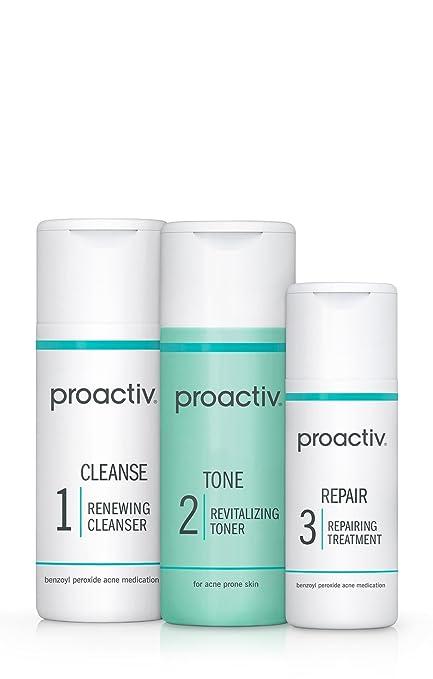 Proactiv 3-Step Acne Treatment System (30-day) Starter Size Acne treatment