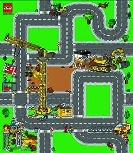 LEGO City Playmat Construction - Tapete de juego: construcciones