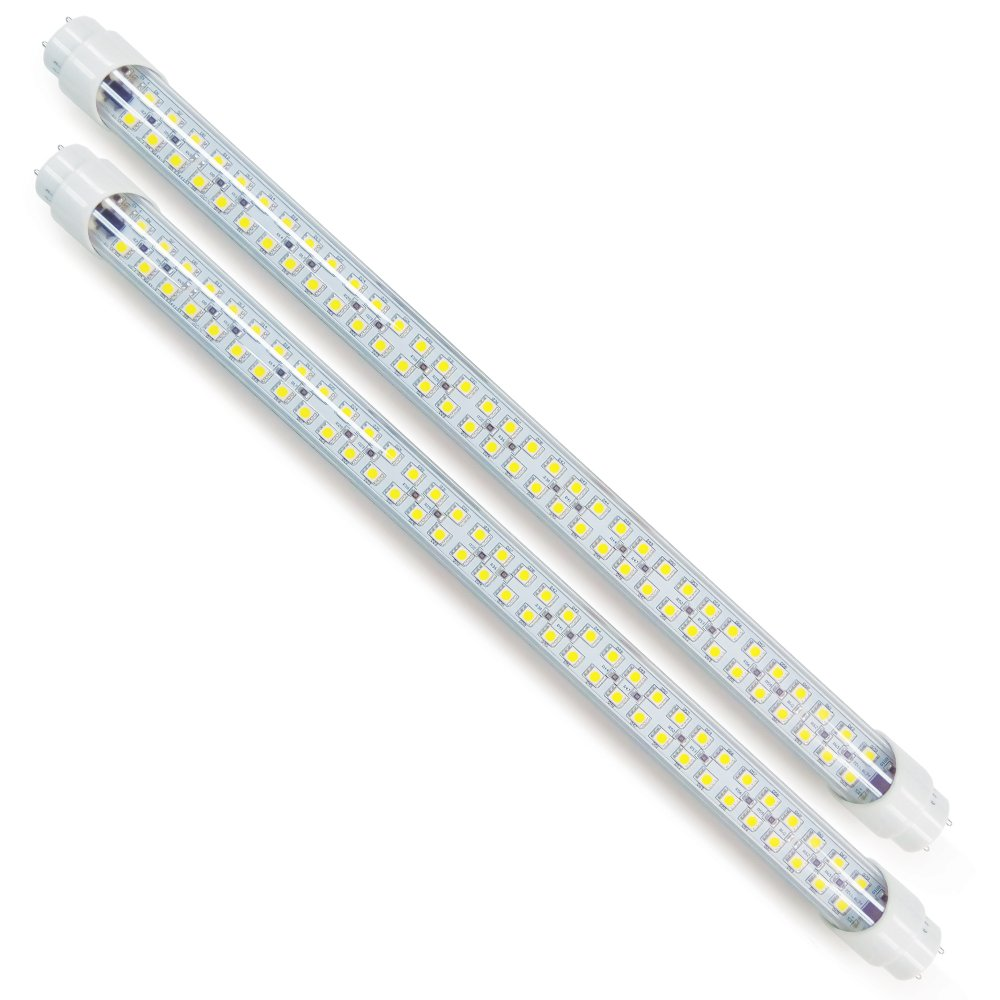 LT8-CWM2 T8 for 12V DC installation. Duo-Pack of Eco-LED Plug-/&-Play dimmable Eco-LED 18 tubes in Cold White