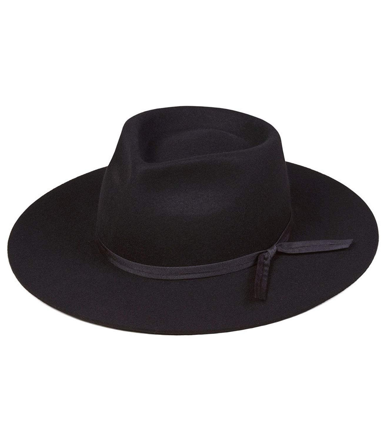 Lack of Color Unisex The Jethro Fedora (Black, SM (55cm)) by Lack of Color (Image #1)