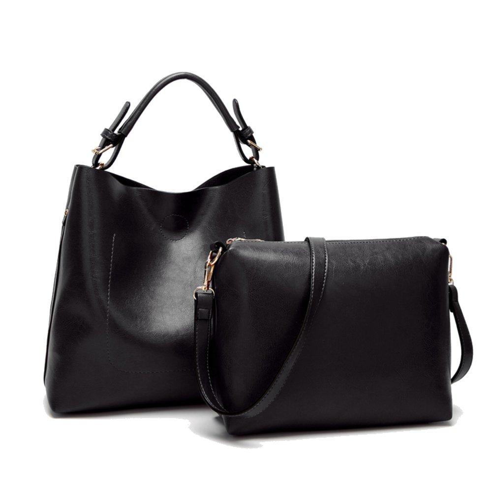 Women Handbags Designer Ladies Satchel Hobo Bags Tote PU Leather Handbags Shoulder Purse by BragBag (Image #3)