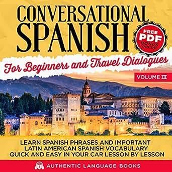 We will travel in spanish
