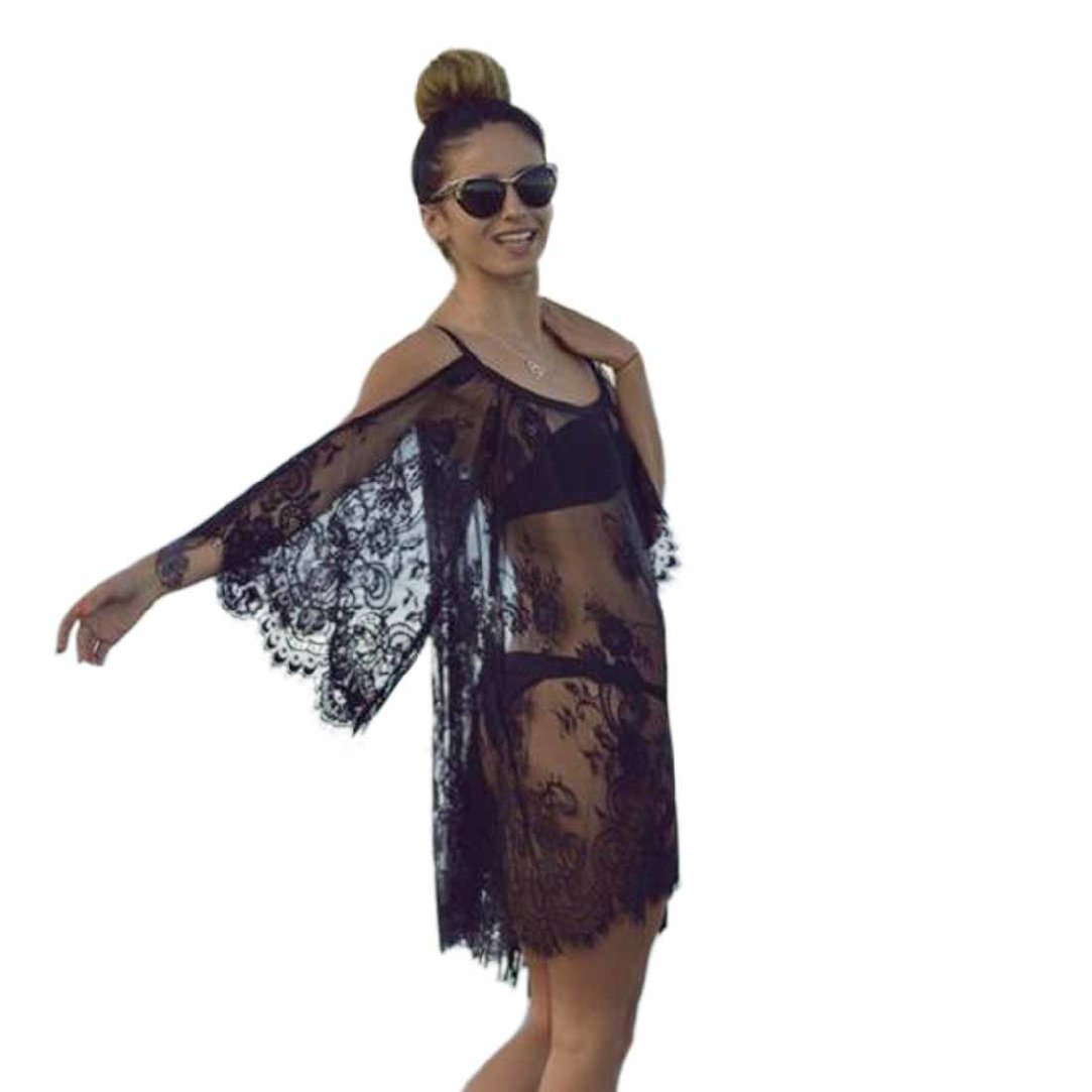 Amazon.com: mosunx (TM) clásico Hippie traje de baño Cover ...