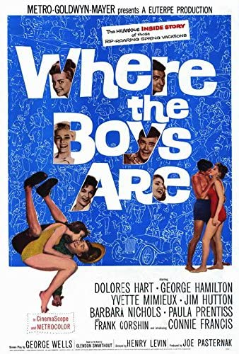 Amazon.com: Where the Boys Are POSTER Movie (27 x 40 Inches - 69cm x 102cm)  (1961): Posters & Prints