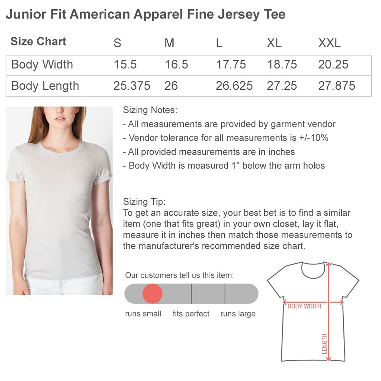 09cd8f5a771 American Apparel Shirt Size Chart