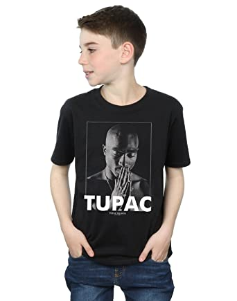 a2f6816bf 2Pac niños Tupac Shakur Praying Camiseta  Amazon.es  Ropa y accesorios