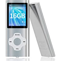 MYMAHDI MP3/MP4 Music Player with 16 GB Memory Card(Expandable Up to 128GB),Supporting Photo Viewer,Voice Recorder,FM…