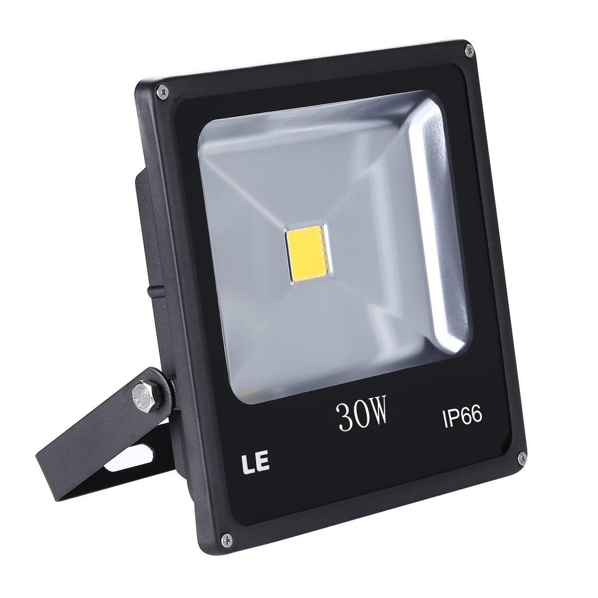 LE 30W Super Bright Outdoor LED Flood Lights 75W HPS Bulb Equivalent Daylight White  sc 1 st  Amazon.ca & Lighting EVER 50W Super Bright Outdoor LED Flood Lights 150W HPS ...