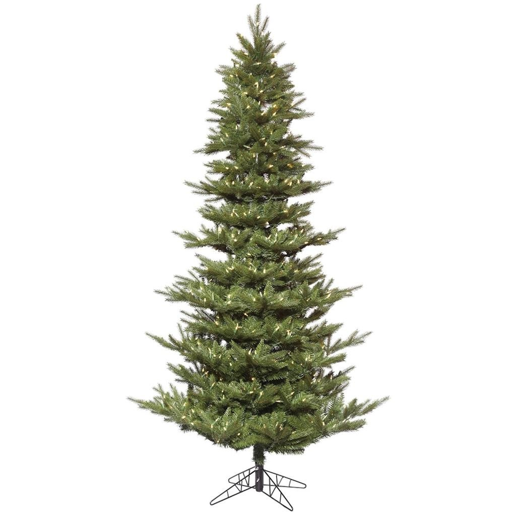 Vickerman 497715 - 10' x 66'' Carlsbad Fir 1200 Warm White LED Lights Christmas Tree (K172486LED)