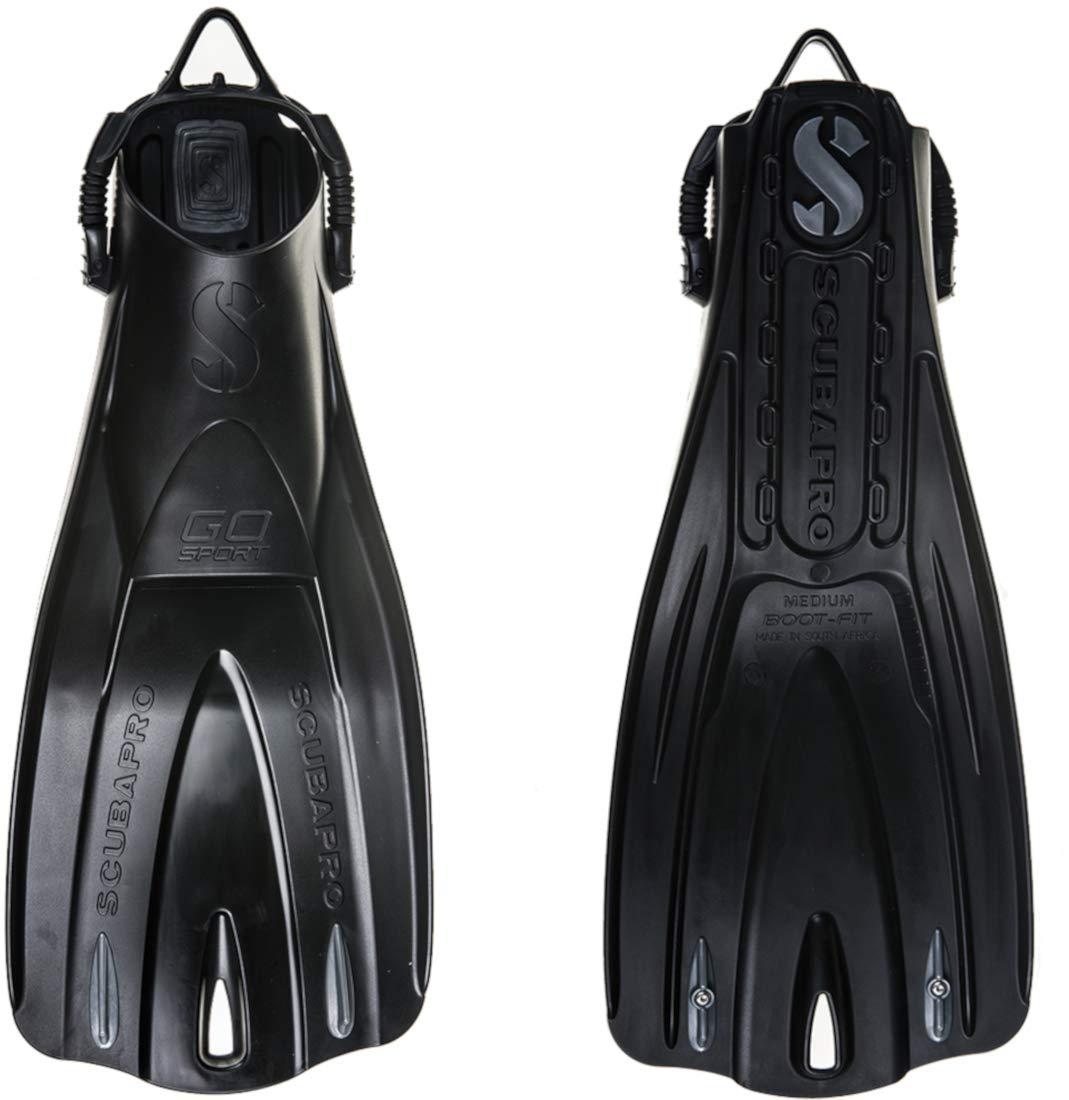 Scubapro GO Sport Fins (Medium, Black)
