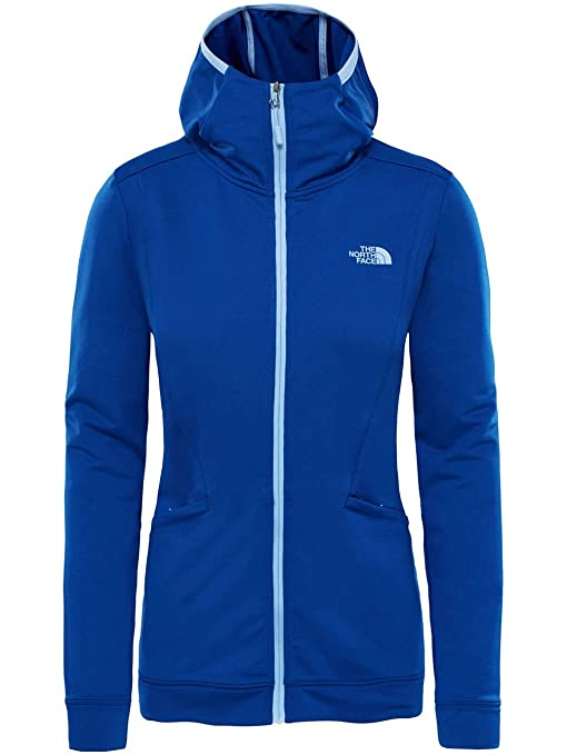 The North Face W Hikesteller Hoody -Spring 2018-(T93BV9ZDE) - Sodalite Blue 8f8c387bc5c6