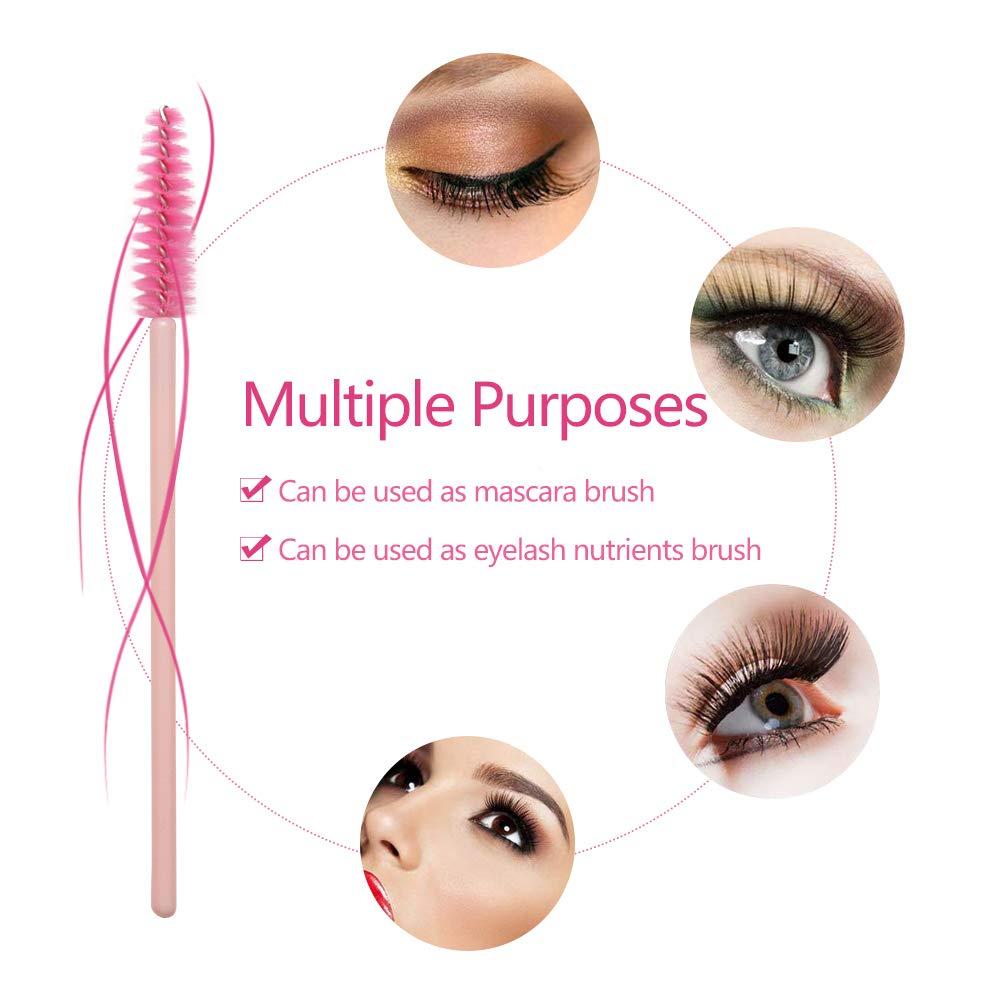 2pc Disposable Eyelash Extension Mascara Brush Tower Wands Applicator