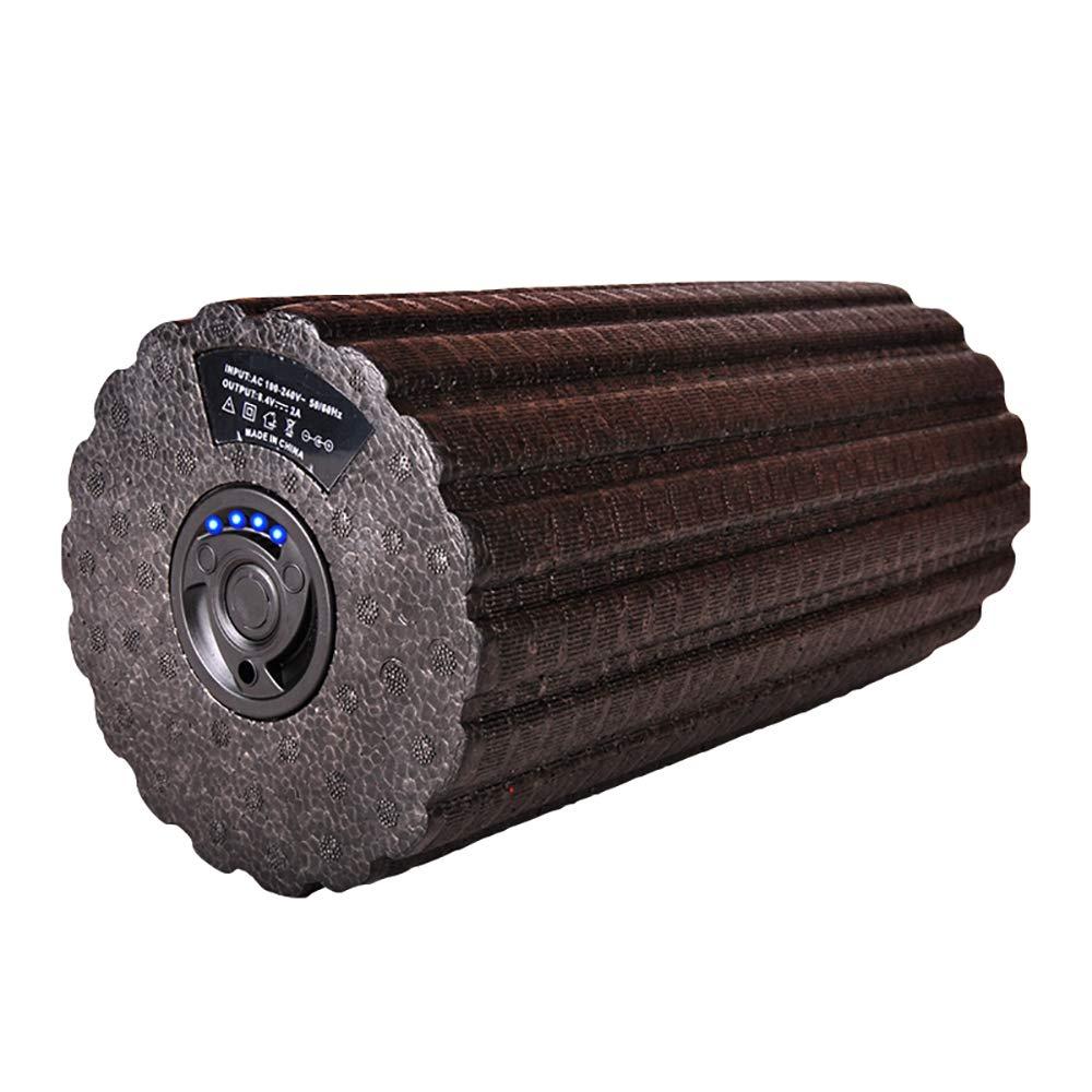 FL- Elektrische Schaumwelle Yoga-SäUle Muskelentspannung HilfsgeräTe FüR Fitness Vibrationsmassage Vierstufige Anpassung