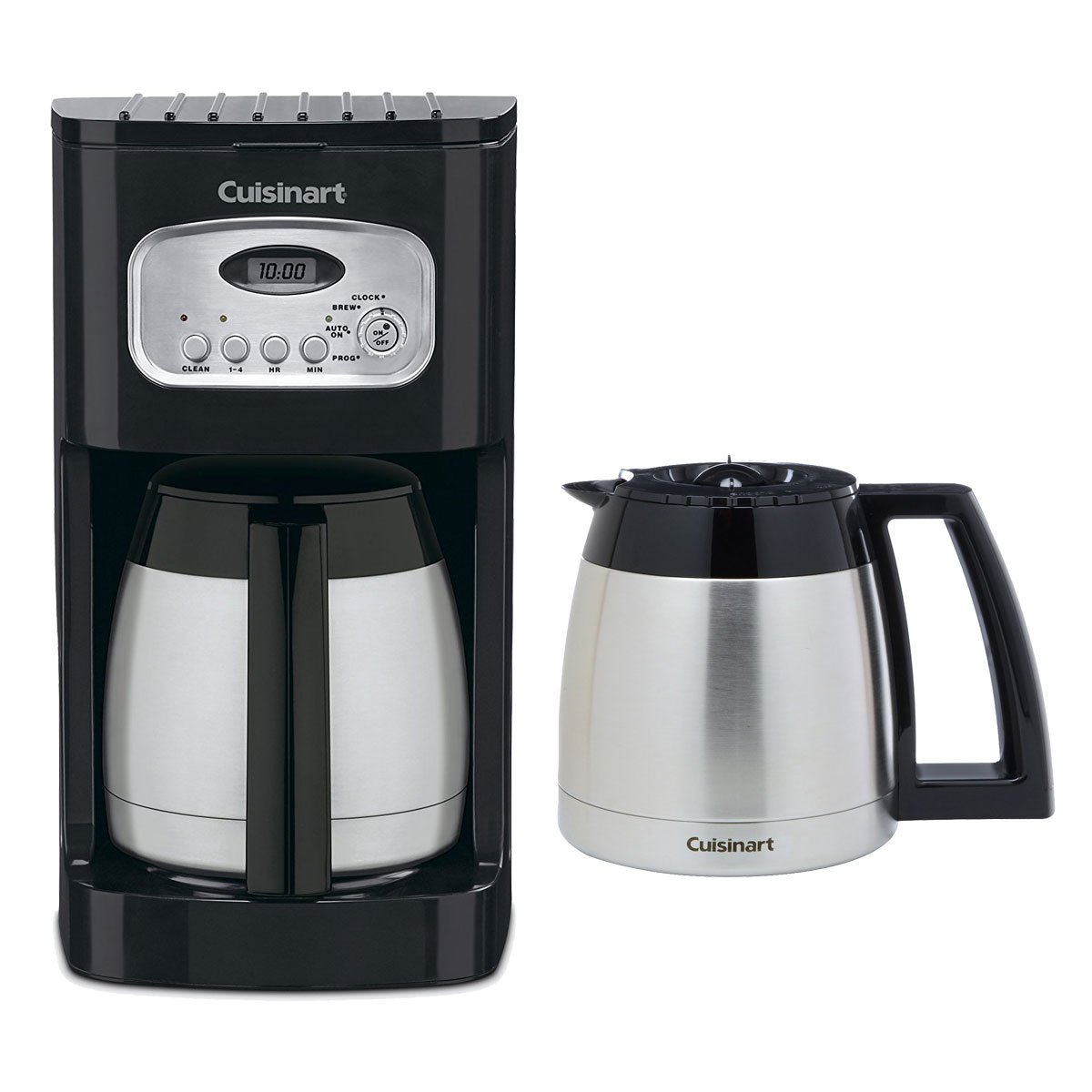 Cuisinart DCC-1150BK 10-Cup Thermal Coffeemaker Black w/ Additional Carafe by WhoIsCamera (Image #1)