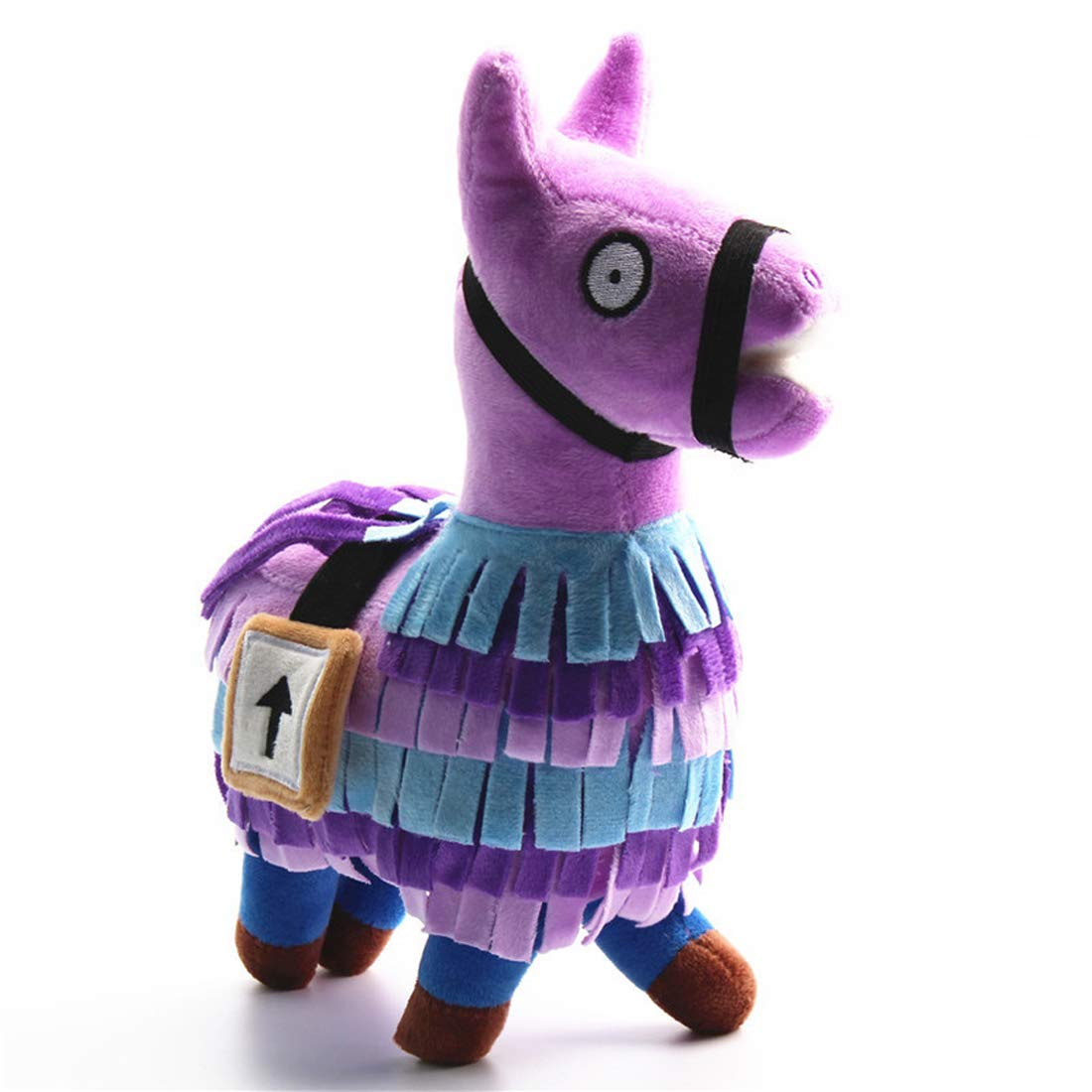 Loot Llama Plush Toys Loot Supply Gamer Gifts Reward, Gaming Alpaca Treasure Box 25cm Collectible for Kids and Adults Qukueoy