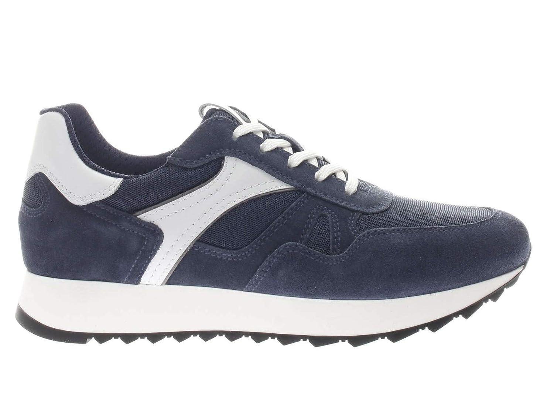 Nero Nero Nero Giardini scarpe da ginnastica Uomo 900940 Blu Bianco 89506f