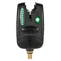 Lixada 8 LEDs Wasserdicht Angeln Alarm Bissanzeiger für Angelrute