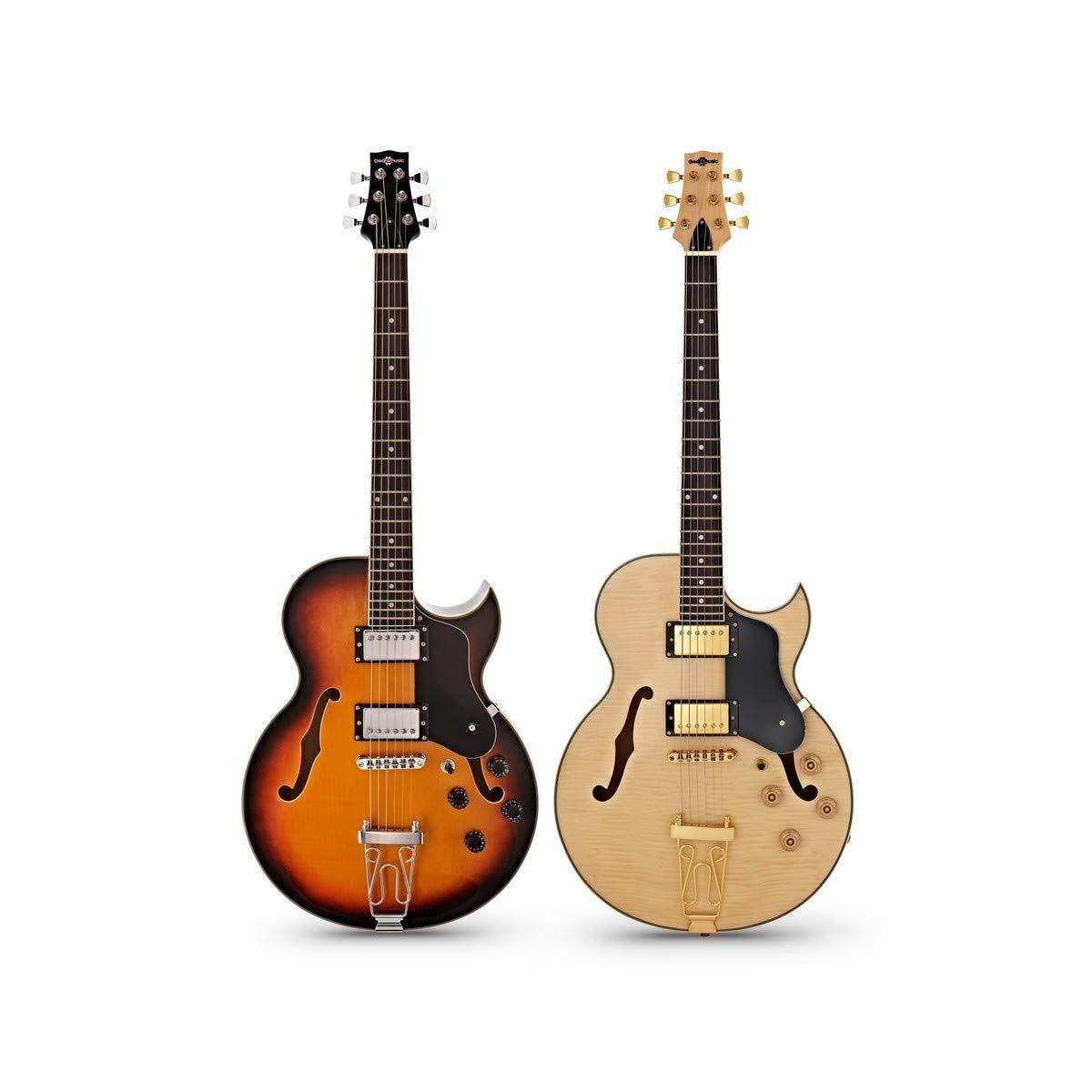 Guitarra San Diego Semiacustica + Ampli SubZero V15G - Natural ...