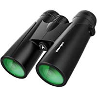 12x42 Powerful Binoculars with Clear Weak Light Vision - Lightweight (1.1 lbs.) Binoculars for…