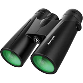 10x42 Compact Binoculars for Adults | Binoculars for Birds Watching - High Powered HD Binoculars wth Clear Weak Light Vision - Portable Binoculars for at amazon