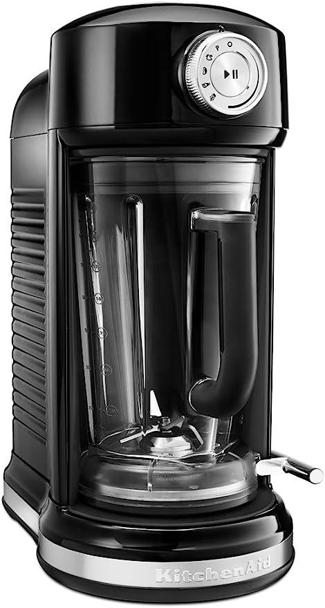 KitchenAid KSB5010OB Torrent Magnetic Drive Blender, Onyx Black