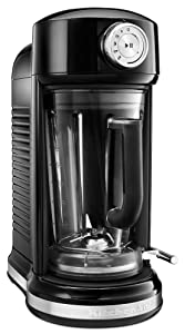 KitchenAid KSB5010OB Torrent Magnetic Drive Blender, Onyx Black
